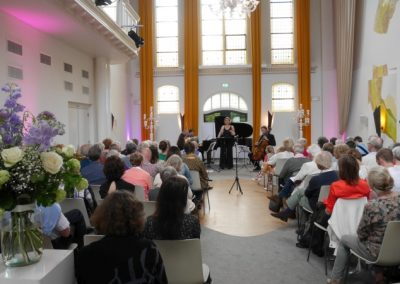 11 Dream with Me - Music on Chairs 26 mei 2019 - Henriette Feith en Artonis Pianotrio - foto Lianne ter Maat