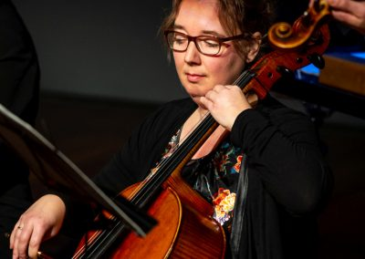 Esther de Boer- cello - Folksongs 27 januari 2019 -2- foto Jeroen Kuys