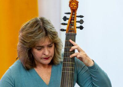 Cassandra Luckhardt - viola da gamba - Baroque Sucre 7-10-2018 Foto Jeroen Kuys