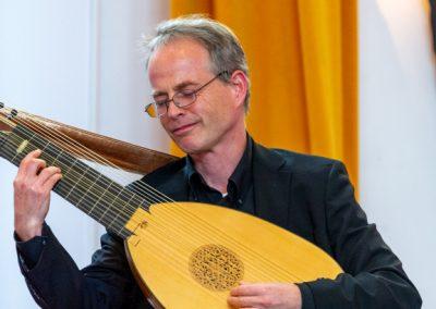 David van Ooijen - theorbe - Baroque Sucre 7-10-2018 Foto Jeroen Kuys